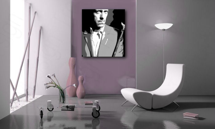 Quadri dipinti a mano Pop Art Dr. HOUSE dh2