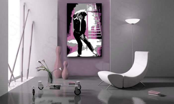Quadri dipinti a mano Pop Art Michael Jackson mj3